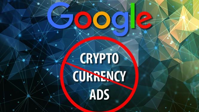 Chính sách chặn tất cả hình thức quảng cáo liên quan đến tiền mã hóa sẽ bắt đầu có hiệu lực vào tháng 6/2018. Nguồn: Bitcoin Chaser