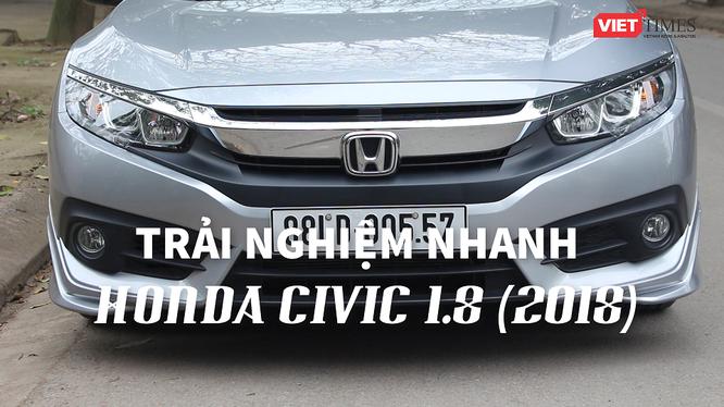 Honda Civic 1.8 E có kiểu dáng thể thao, nhiều tính năng cao cấp, giá chỉ 758 triệu. Ảnh: Việt Anh