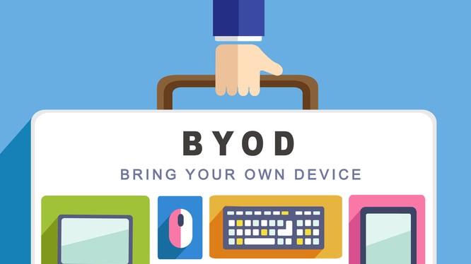 BYOD là xu hướng phổ biến hiện nay trên thế giới. Nguồn: ShutterStock