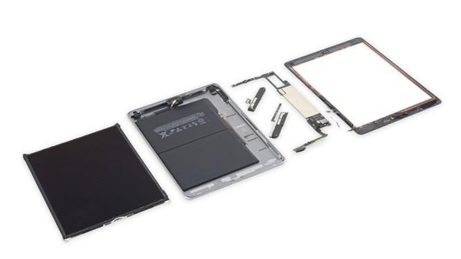 iFixit chấm điểm khả năng sửa chữa của iPad 6(2018) là 2/10. Nguồn: iFixit
