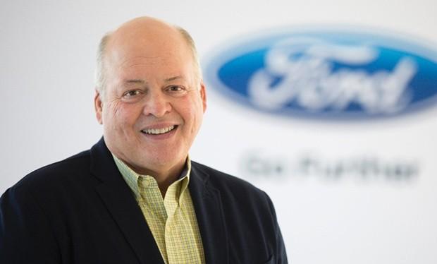 Giám đốc điều hành của Ford, ông Jim Hackett. Nguồn: CarCoops
