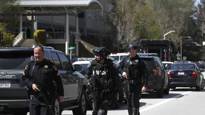 Rất nhiều người bị thương trong vụ xả súng tại Trụ sở YouTube ngày 4/4. Nguồn: LATimes