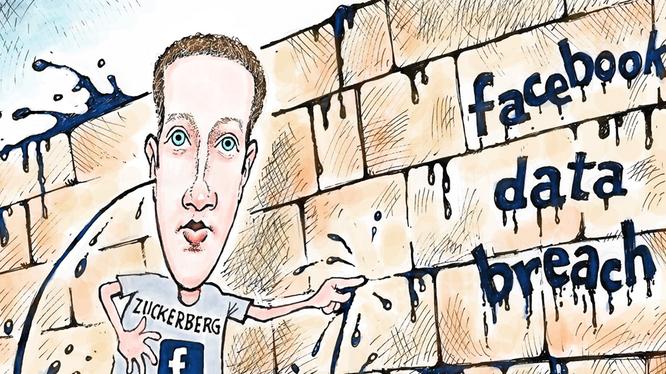 Ảnh biếm họa CEO Facebook (nguồn: The Next Web)