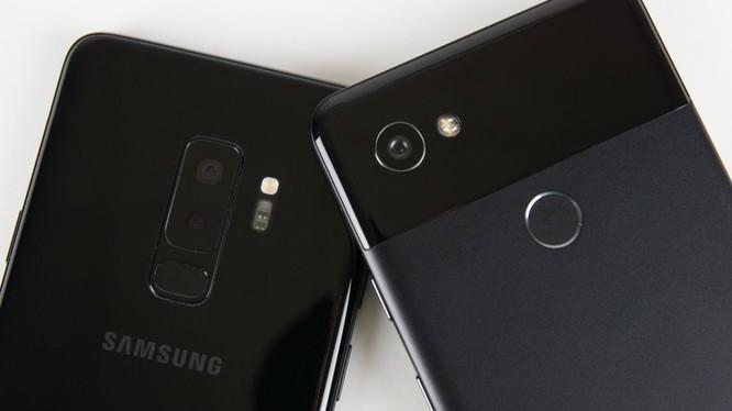 Pixel 2 XL và Galaxy S9+ là hai mẫu điện thoại Android chụp ảnh tốt nhất hiện nay. Nguồn: BI