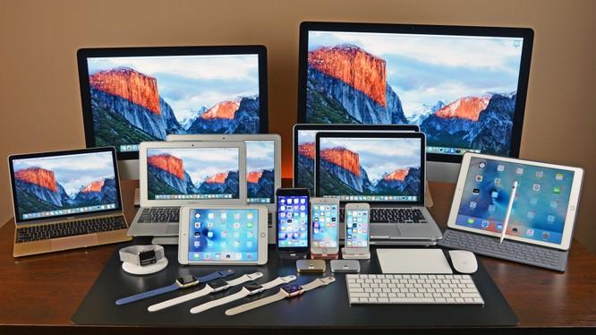 Các sản phẩm công nghệ của Apple