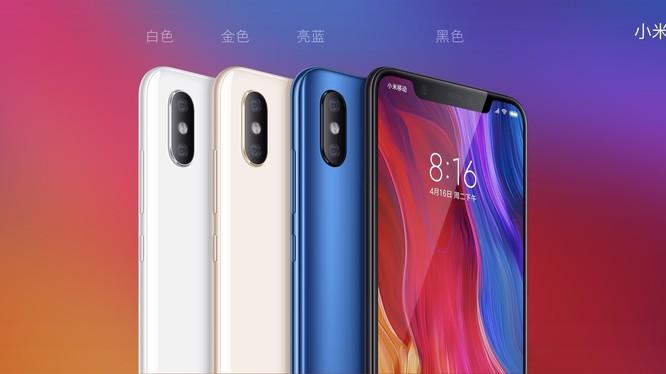 Xiaomi Mi 8 đạt 99 điểm trên DxOMark, ngang với Samsung Galaxy S9+. Ảnh: Xiaomi