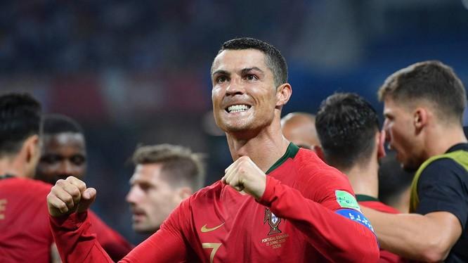 Ronaldo lập kỷ lục ghi bàn tại 4 kỳ World Cup. Ảnh: Independent