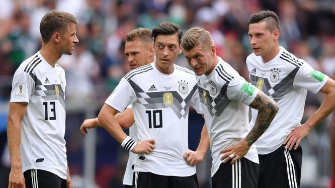 Tuyển Đức đang đối mặt với lời nguyền dành cho các nhà đương kim vô địch. Ảnh: SkyNews