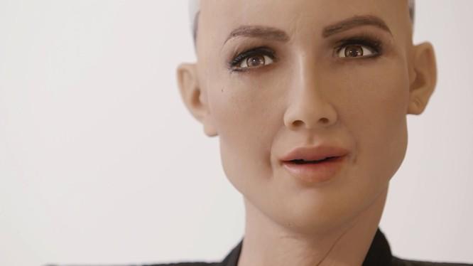 Sophia - Công dân Robot đầu tiên trên thế giới sẽ đến thăm Hà Nội trong hai ngày 12-13/7. Ảnh: TrueFreeThinker