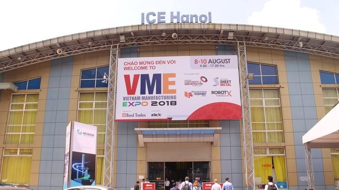 Triển lãm VME 2018 (Vietnam Manufacturing Expo 2018) tổ chức tại Cung VH hữu nghị Việt - Xô