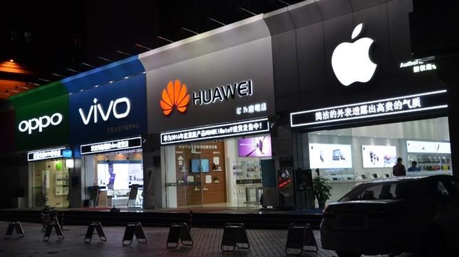 Tứ đại gia trên thị trường smartphone Trung Quốc. Ảnh: Fortune