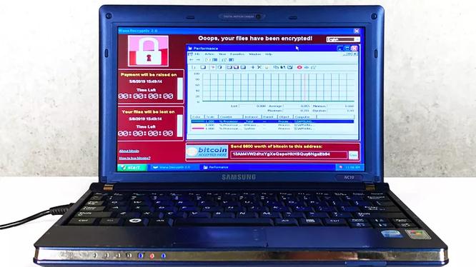 Chiếc máy tính xách tay (Samsung NC10- 14GB 10,2 inch) chứa 6 loại virus độc hại nhất thế giới đang được rao bán giá 1 triệu USD. Ảnh minh họa: The Verge