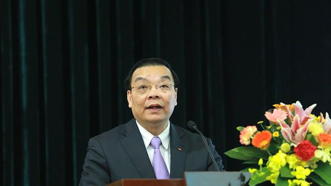 Bộ trưởng Bộ KH&CN Chu Ngọc Anh phát biểu chỉ đạo hội nghị