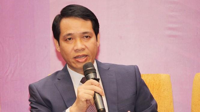 Ông Trần Minh Tân, Giám đốc Trung tâm Internet Việt Nam. Ảnh: Việt Hải.