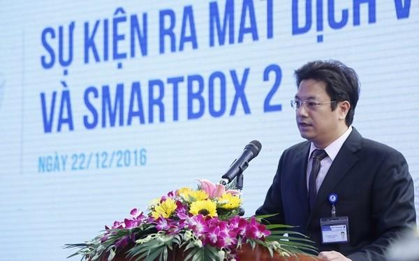 """""""Chủ trương của VNPT Technology là tạo ra các sản phẩm đi đầu về công nghệ, chú trọng tới chất lượng sản phẩm đáp ứng nhu cầu đa dạng người tiêu dùng"""", ông Tô Mạnh Cường - Phó TGĐ VNPT Technology chia sẻ."""