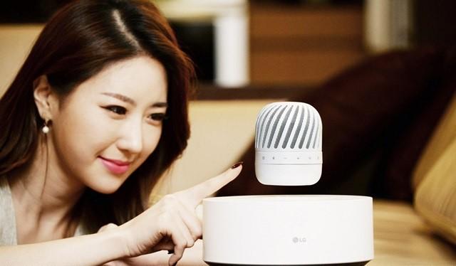 Loa nghe nhạc có khả năng bay lơ lửng của LG