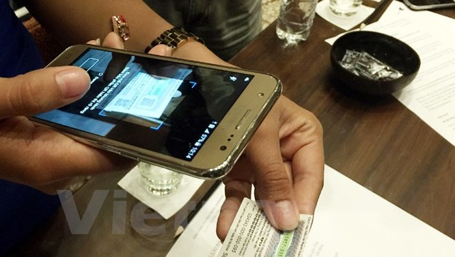 Ứng dụng MobiFone NEXT có thể cài đặt dễ dàng trên hệ điều hành Android và sắp tới là iOS. (Ảnh: T.H/Vietnam+)