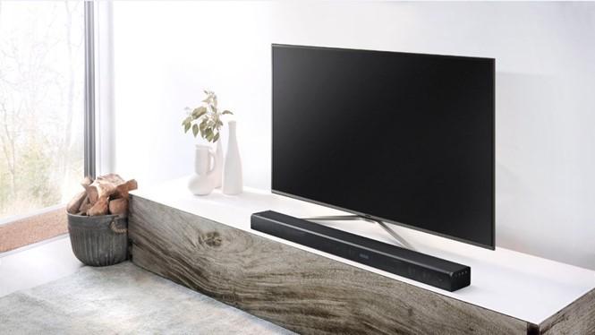 Thiết kế tinh tế của soundbar Samsung KW-K950