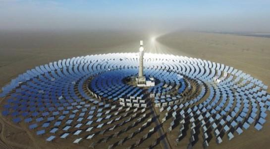 Nhà máy điện Mặt trời kiểu mới dùng công nghệ muối nóng chảy