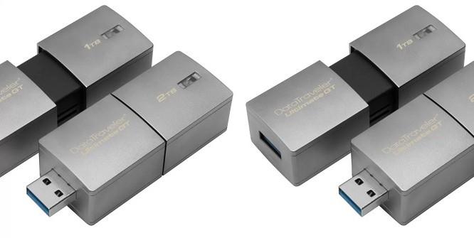 USBHình ảnh USB có dung lượng lên đến 2 TB.