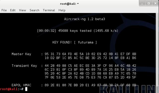 Quá trình bẻ khóa và giải mã chỉ mất hơn…30 giây!