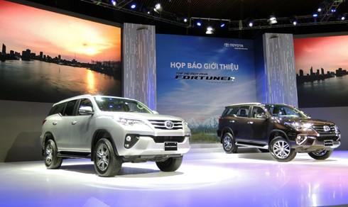 Toyota Fortuner mới nhập khẩu từ Indonesia. Ảnh: Đức Quang.