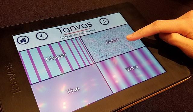 Công nghệ mang tên TanvasTouch