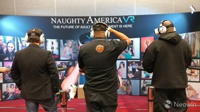 Gian hàng của Naughty America tại CES 2017