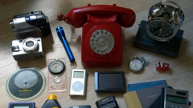Rất nhiều thiết bị đã bị smart phone thay thế