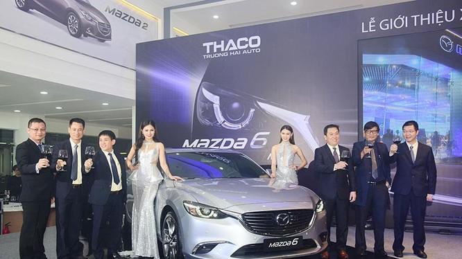 Mazda6 vừa ra mắt tối qua