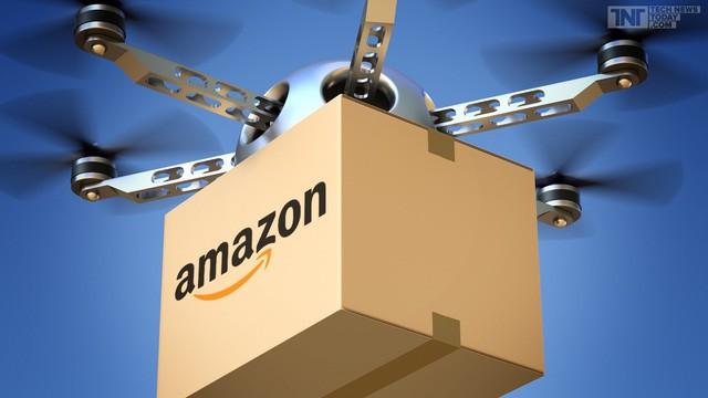 Amazon đi tiên phong trong viêc jdungf drone giao hàng