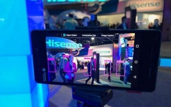 Thiết bị được cho là Nokia 8 tại CES của TotalTech. Ảnh: My Nokia Blog