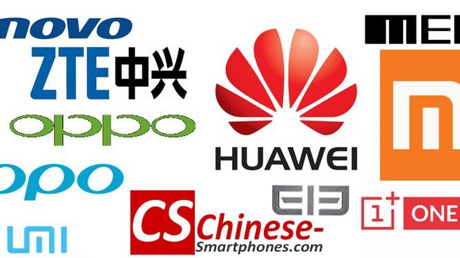 Ngày càng có nhiều thương hiệu điện thoại di động Trung Quốc