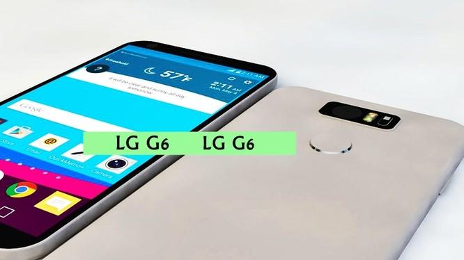 Mẫu smartphone LG G6