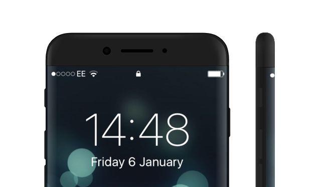 Bản concept iPhone 8 với màn hình tràn cạnh tuyệt đẹp. Ảnh: Behance