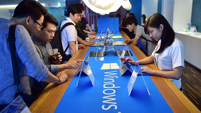 Microsoft khuyên người dùng sử dụng hệ điều hành Windows 10