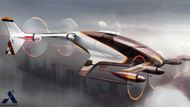 Một ý tưởng thiết kế dành cho chiếc taxi bay đến từ Airbus