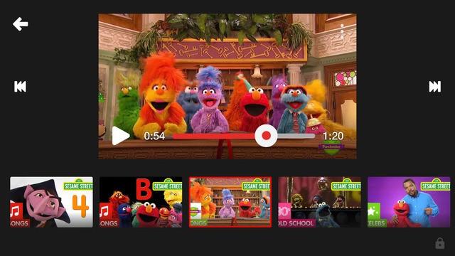 Nội dung của YouTube Kids đã được chọn lọc để phù hợp với trẻ nhỏ