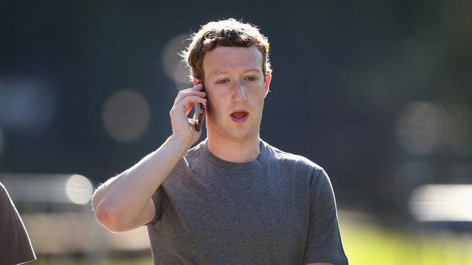Hình ảnh của Mark Zuckerberg đã trở nên quá quen thuộc