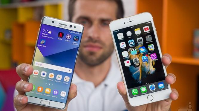 iPhone 7 Plus nhỉnh hơn Nokia 6