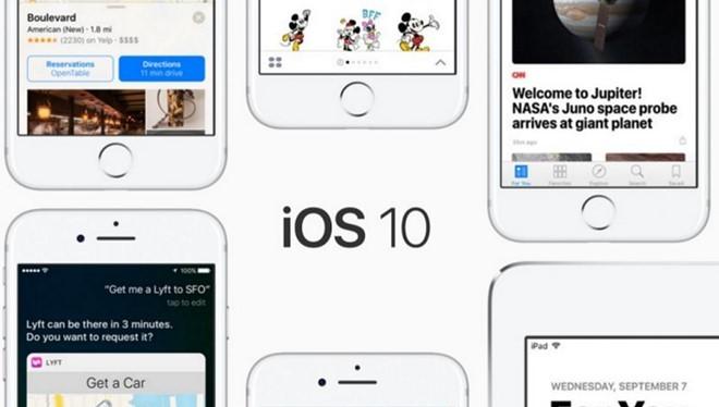 iOS 10.2.1 càng làm mọi việc trở nên rối rắm hơn. Ảnh: Apple.