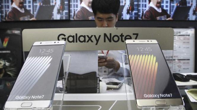 Vội vàng đưa Galaxy Note 7 trở lại thị trường gây ra sai sót trong quá trình sản xuất
