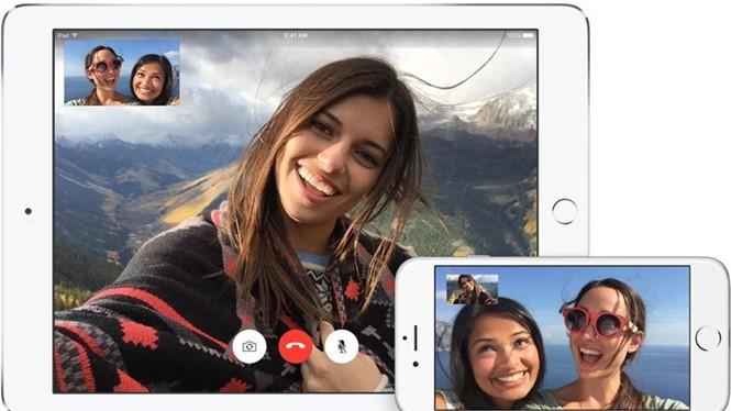FaceTime trong phiên bản iOS 11 có thể hỗ trợ nhiều người gọi điện với nhau cùng lúc ẢNH: APPLE