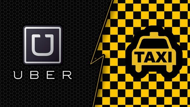 Taxi Uber ngày càng thông dụng