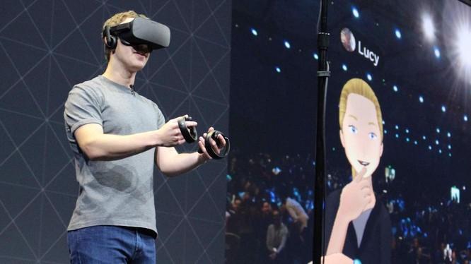 Mark Zuckerberg đang thử nghiệm kính AR