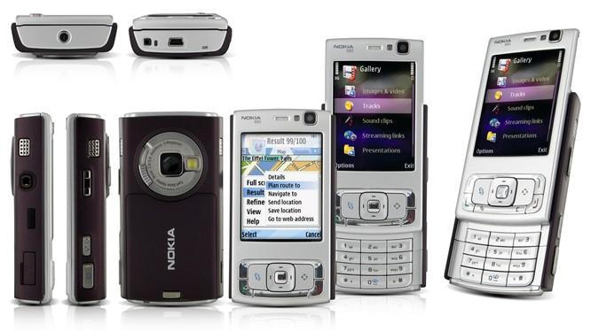 Điện thoại Nokia dòng N95