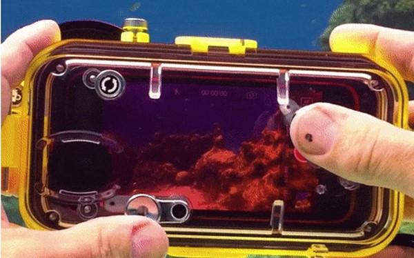 LenzO có khả năng giúp iPhone 7/7 Plus ghi được hình ảnh ở độ sâu 100 mét