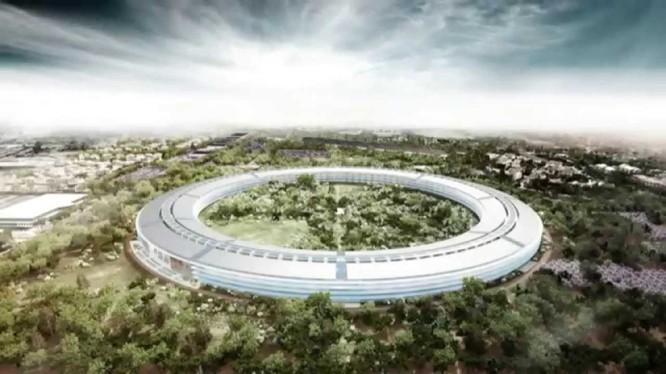 Tổng hành dinh mới của Apple trông như thế này sau khi hoàn tất