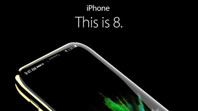 Một bản thiết kế iPhone 8