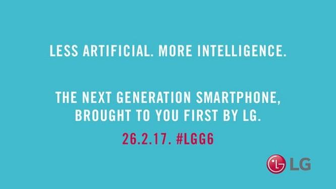 Thông điệp mới của LG G6